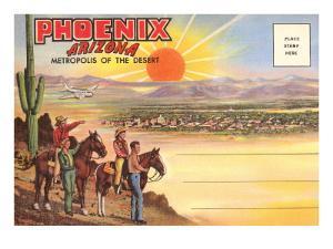 Postcard Folder, Phoenix, Arizona