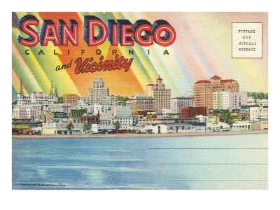 Postcard Folders, San Diego and Vicinity--Art Print