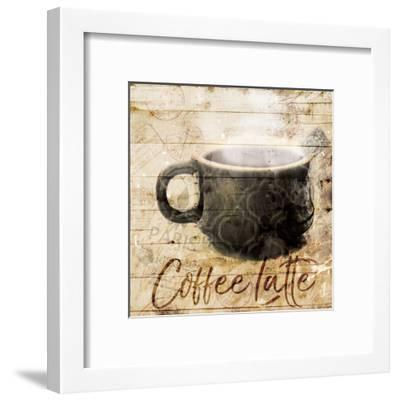 Postcard From Coffee-Milli Villa-Framed Art Print