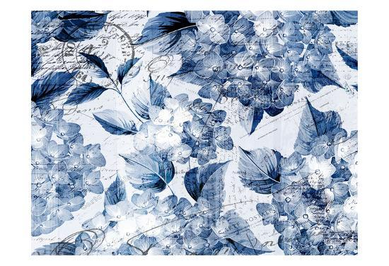 Postcard Hydrangea 1-Kimberly Allen-Art Print
