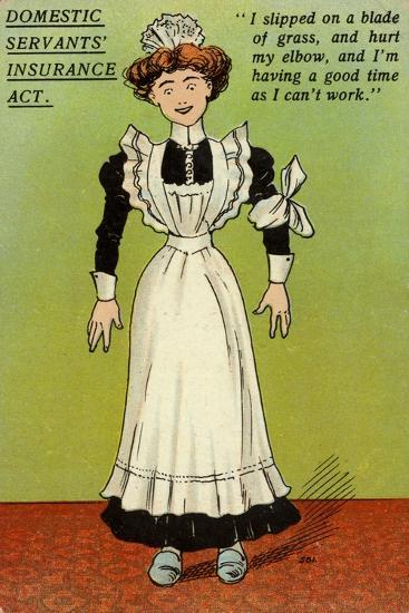 Postcard Opposing the National Insurance Act 1911--Giclee Print