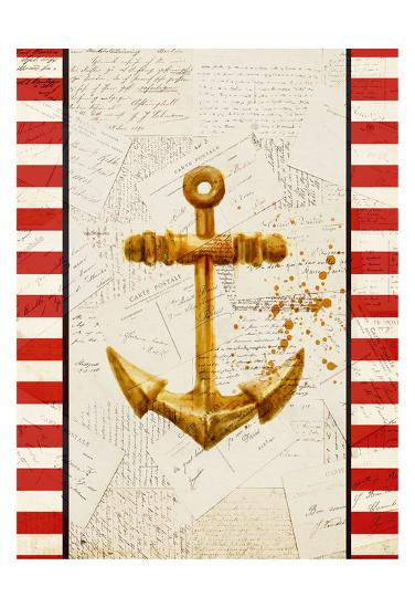 Postcards from the Sea 2-Kimberly Allen-Art Print
