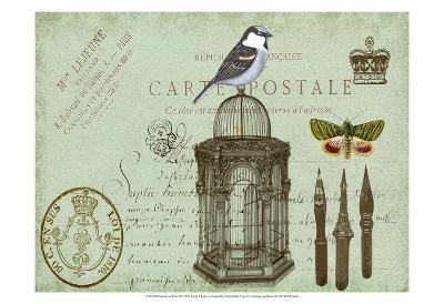 Postcards of Paris II-Sandy Lloyd-Art Print