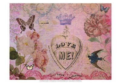 Postcards of Paris V-Sandy Lloyd-Art Print