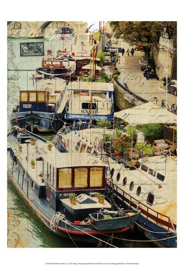 Postcards of Paris X-Sandy Lloyd-Art Print