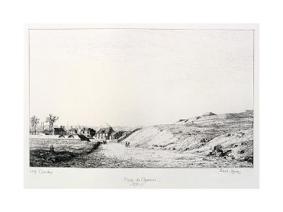 Poste De Charonne, Siege of Paris, 1870-1871-Paul Roux-Giclee Print