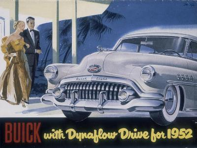 Poster Advertising a Buick, 1952--Giclee Print
