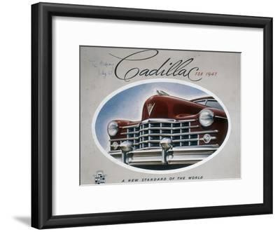 Poster Advertising a Cadillac, 1947