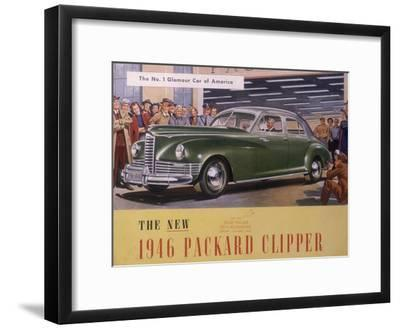 Poster Advertising a Packard Clipper, 1946