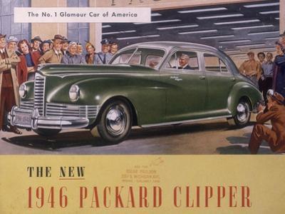 Poster Advertising a Packard Clipper, 1946