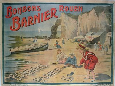 Poster Advertising 'Barnier' Sweets--Giclee Print