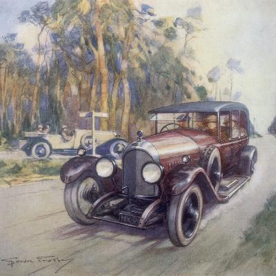 Poster Advertising Bentley Cars, 1927-Gordon Crosby-Giclee Print