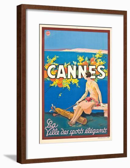 Poster Advertising Cannes-Sem-Framed Giclee Print