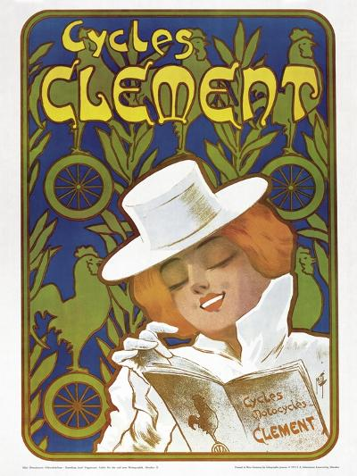 Poster Advertising 'Clement' Bicycles--Giclee Print