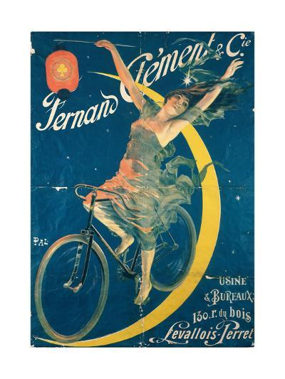 Poster Advertising 'Fernand Clement' Bicycles-Pal-Giclee Print
