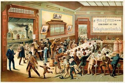 Poster Advertising 'Great Atlantic and Pacific Tea Co.', 1886--Giclee Print