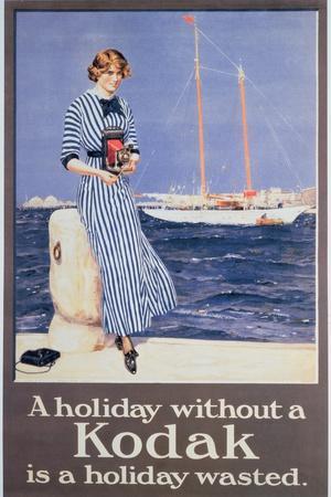 Poster Advertising Kodak Cameras, C.1930--Giclee Print