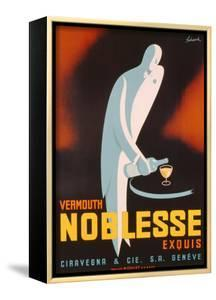 Poster Advertising 'Noblesse' Vermouth, C.1938