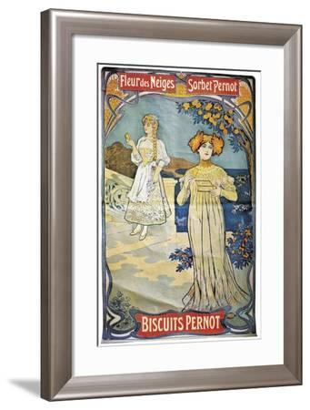 Poster Advertising 'Pernod' Biscuits, 1897--Framed Giclee Print
