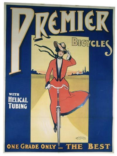 Poster Advertising Premier Bicycles, 20th Century--Giclee Print