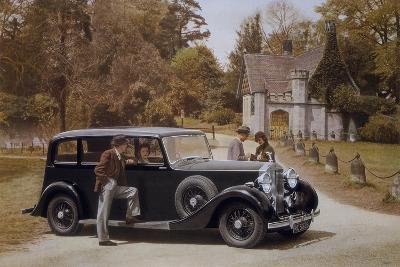 Poster Advertising Rolls-Royce Cars, 1939--Giclee Print