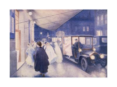 Poster Advertising Rolls-Royce Cars, C1907-Charles Sykes-Giclee Print
