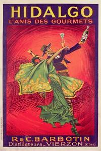 Poster Advertising the Drink Hidalgo, Printed by Affiches Gaillard, Paris, C.1930