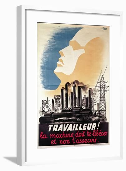 Poster Advertising the Joc, C.1950--Framed Giclee Print