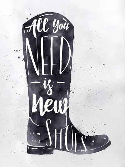 Poster Boots-anna42f-Art Print