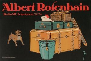 Poster for Albert Rosenhain Trunk