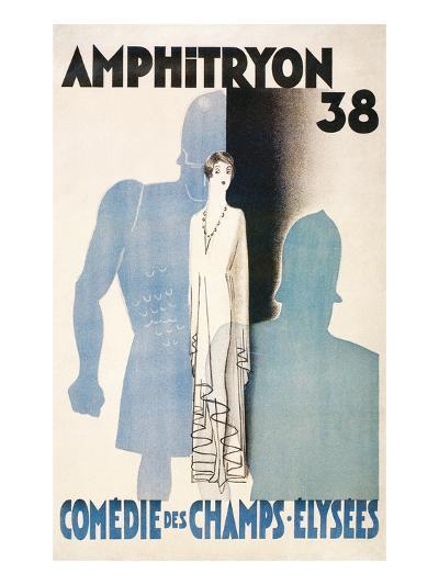 Poster for Amphitryon 38, Paris--Art Print