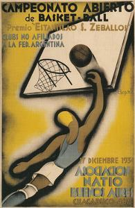 Poster for Argentine Basketball Tournament