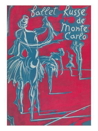 Poster for Ballet Russe De Monte Carlo--Art Print