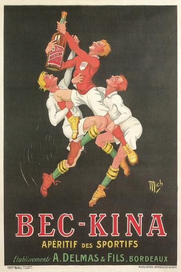 Poster for Bec-Kina Apertif--Art Print