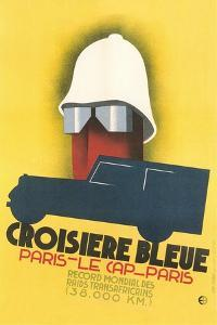 Poster for Blue Crossing