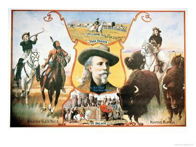 Poster For Buffalo Bill's--Giclee Print