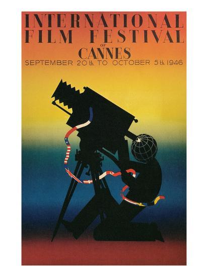 Poster for Cannes Film Festival, 1946--Art Print