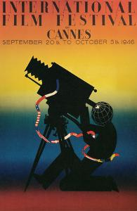Poster for Cannes Film Festival, 1946