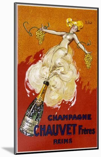Poster for Chauvet Champagne-J. J. Stall-Mounted Premium Giclee Print