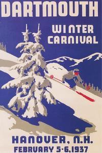 Poster for Dartmouth Winter Carnival