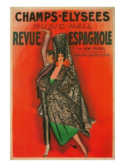 Poster for Flamenco Dancers--Art Print