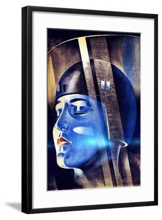 Poster for Fritz Lang's Film Metropolis--Framed Giclee Print