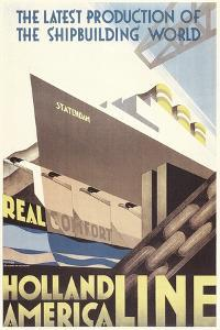 Poster for Holland America Line