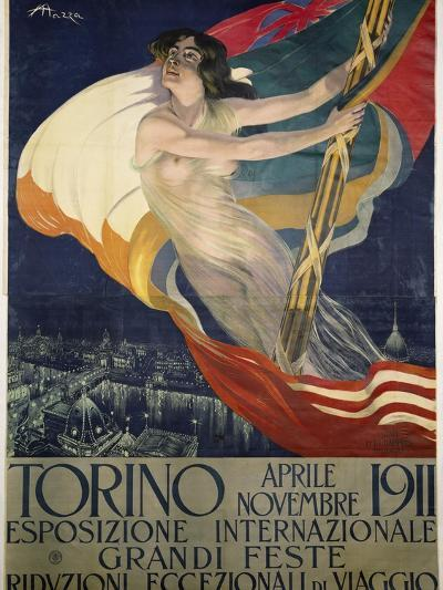 Poster for International Exhibition of Turin, April-November 1911, Italy, 20th Century--Giclee Print