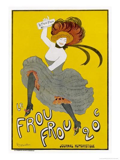 Poster for Le Frou-Frou Humorous Magazine-Leonetto Cappiello-Giclee Print