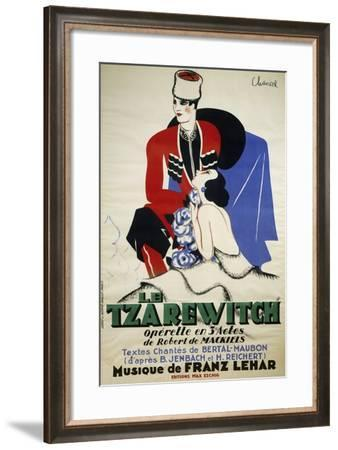 Poster for Le Tzarewitch--Framed Giclee Print