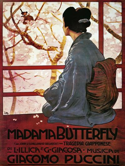 Poster for Madame Butterfly--Giclee Print