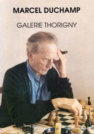 Poster for Marcel Duchamp at Galerie Thorigny, January-February 1991