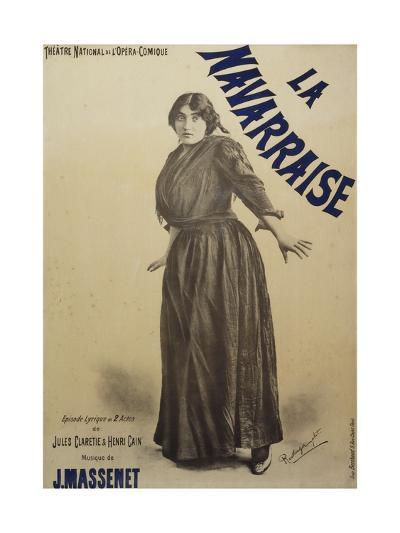 Poster for Navarraise--Giclee Print