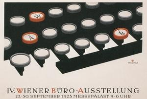 Poster for Office Exhibition in Vienna